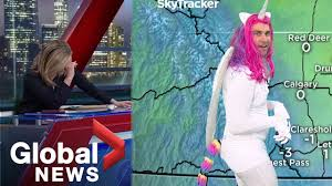 Halloween <b>2019</b>: News anchors in tears as meteorologist shows up ...