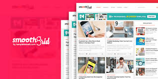 responsive blogger templates smooth grid responsive blogger template
