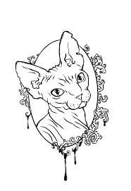 sketch tattoo Pesquisa Google Fotografia de gatos Pinterest