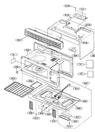 kenmore model 72180499400 microwave hood combo genuine parts Sears Kitchen Appliances Microwave at Sears Microwave Diagram