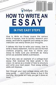 how to write an essay in five easy steps scribendi  how to write an essay in five easy steps scribendi 9781492338543 amazon com books