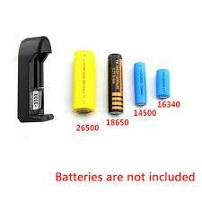 <b>3.7V</b> Universal Rechargeable <b>Battery</b> Charger for <b>18650 16340</b> ...
