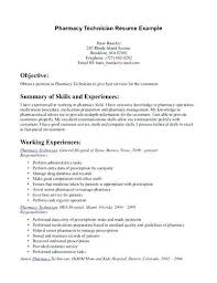Pharmacy Resume Examples Best Of Pharmacy Tech Resume Sample Technician Senior Certified Creerpro