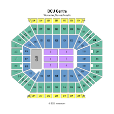 Dcu Center Seating Chart For Concerts Dcu Center Fka Worcester Centrum Worcester Event Venue