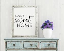 >home decor wall art etsy home sweet home sign home decor wall art housewarming gift rustic prints rustic home decor wall art printables printable wall art
