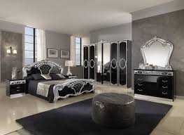 bedroom paint colors with dark brown furniture white table grey headboard bed red covered bedding charming