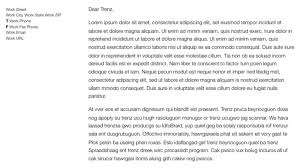 Business Correspondence Letters Examples How To Format And Write A Simple Business Letter