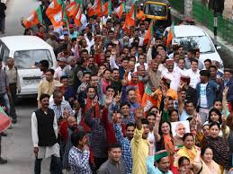 Bjp Set For Clean Sweep In Himachal Pradesh India News Times Of