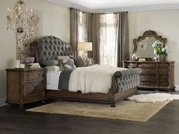 tufted bedroom furniture. Hooker Furniture Rhapsody King Tufted Bed 5070-90566A-GRY Bedroom B
