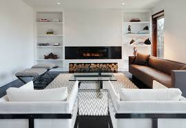 built in cabinets around fireplace fresh modern ins for every