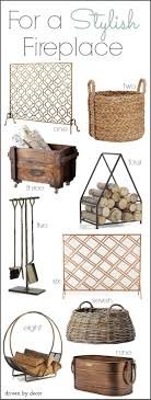 stylish fireplace accessories