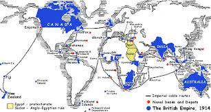 british empire possessions map