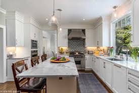 Transitional Farmhouse Kitchen Cabinets In West Newbury Massachusetts
