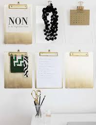 clipboard office paper holder clip. Brass Document Paper File Holder Clipboard Folder Clip Organizer Office