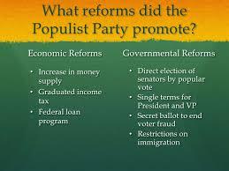 Populists Progressives