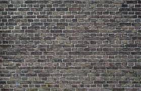 black and brown brick wall old dark