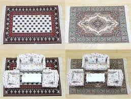 mini oriental rug dollhouse miniature pretend play carpet rug oriental design mini size x best home