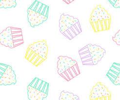 Pastel Cupcakes Art Print By Aneela Rashid Society6
