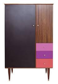 V modern furniture Design Black And Sunset Midcentury Wardrobe Upcycled By Lucy Turner v Mid Century Modern Furniture Style John Schultz Black And Sunset Midcentury Wardrobe Upcycled By Lucy Turner v