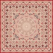 Persian Design Fabric Vintage Arabic Pattern Persian Colored Carpet Rich Ornament