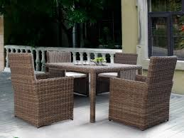 outdoor white wicker dining set. sunset west coronado 5 piece wicker dining set outdoor white g