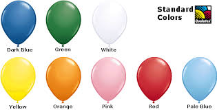 Qualatex Balloons Color Chart Qualatex Latex Balloons Wholesale