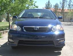 File:2005 toyota corolla s front.jpg - Wikimedia Commons
