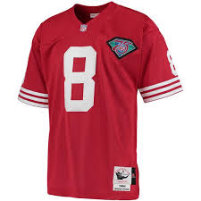 amp; Francisco Ness San Authentic 49ers Scarlet Steve Men's Mitchell Jersey Throwback 1994 Young dbcabbaebd|Sole Meals San Francisco