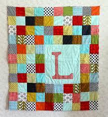 Maureen Cracknell Handmade: A Patchwork Letter Baby Quilt : : & simple patchwork quilt Adamdwight.com