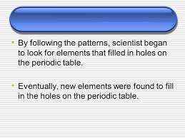The Periodic Table Grade 10 Science. - ppt video online download