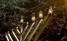 all are invited as a new canaan menorah is lit the first evening of hanukkah the festival of lights sunday dec 2 at 6 p m on s acre