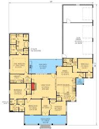 Country Style Open Floor Plans
