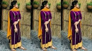 Punjabi Salwar Suit Designs Patiala Salwar Kameez Designs