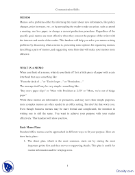 Memos Business Memo Writing I Effective Business Communication Lecture