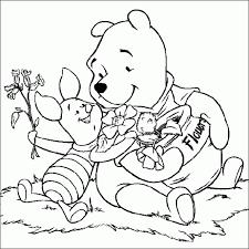 Disegni Da Colorare Tema Winnie The Pooh Settemuseit