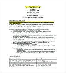 Sample Data Analyst Resume Thian Enchanting Data Analyst Sample Resume