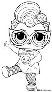 Coloring Pages Com Pin Gina Woods On Lol Surprise Coloring Pages Lol