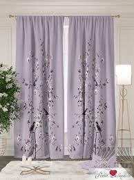 Классические шторы <b>rovena</b> цвет: <b>сирень</b> томдом из ткани ...