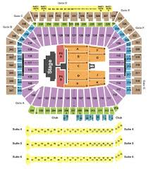 Ford Field Tickets And Ford Field Seating Chart Buy Ford