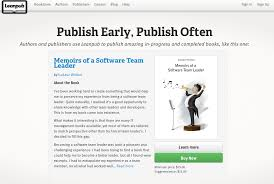 memoirs of a software team leader is now a featured book on the memoirs of a software team leader is now a featured book on the leanpub homepage