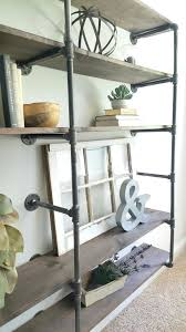 iron pipe shelves industrial pipe shelves give an urban rustic feel black iron pipe kitchen shelves