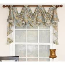 tab top valance.  Tab RLF Home Floral Essence 3Scoop Victory Swag Window Valance In Tab Top V