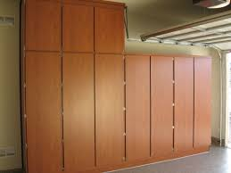 Floor To Ceiling Garage Cabinets Floor To Ceiling Wooden Storage Cabinet With Frameless Doors For