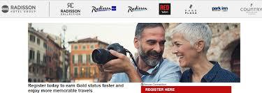 radisson rewards aarp gold elite fast track promotion