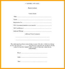 Printable Vehicle Purchase Agreement Elegant 8 Contract For