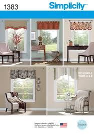 Patterns For Valances Beauteous 48 Simplicity Pattern Valances For 48cm48cm 48 48 Wide Windows