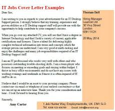 it jobs cover letter examples   job seekers forums