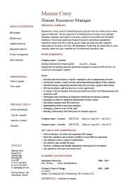 Human resources manager resume, job description, template, sample, example,  HR, staff