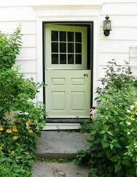 Doors: Apple Green Front Door Design - 20 Eclectic Front Doors ...