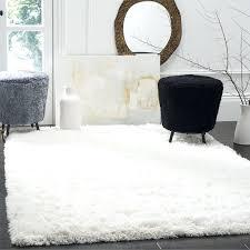 large white fluffy rug polar white rug 6 7 square big white furry rug large white fluffy rug